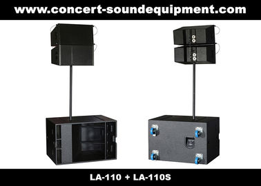 """Cina 380W Line Array Speaker , With 2x1""""+10"""" Neodymium Drivers For Living Event , DJ , Party And Installation Distributor"""