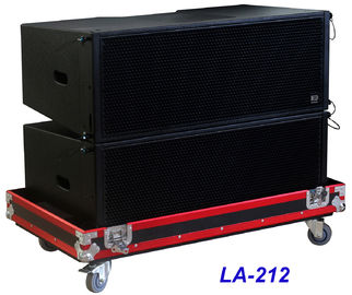 Cina LA-212 Line Array Speaker 3 way 1560W High Power Dynamic, Kejelasan untuk Big Concert, Show dan Church Distributor