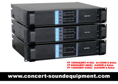 Cina 4 X 1300W Switching Power Amplifier FP 10000Q With SK Power Transistors And NEUTRIK Connectors Distributor